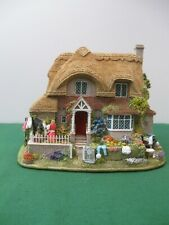 """Lilliput Lane Cottages L2498 """"Dolly Peg"""" Mint in original box with deed."""
