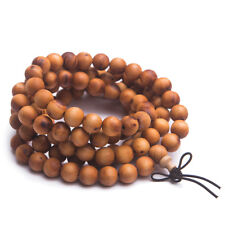 100% Natural Agilawood Fragrant Aloeswood 108 Beads Payer Bracelet 9mm AAA