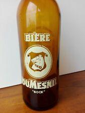 BOUTEILLE sérigraphié Bière Dumesnil  vintage collection crêperie 100 cl
