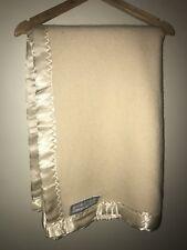 Large Baby Blanket: Onkaparinga Australia - Cream - Dry Cleaned - Fantastic