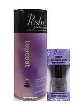 Poshe 2oz + 0.5oz Super Fast Drying Top Coat Nail Polish Salon Manicure