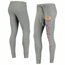 Women's Heathered Gray Los Angeles Lakers Academia Cuffed Pants