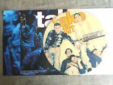 Take That ‎– Crazy Surprise - Private Tour On The World 1994 LP picture + Poster