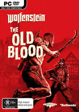 Wolfenstein The Old Blood PC ROM Games New Sealed