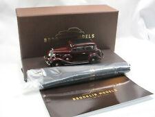 Brooklin Models BML 28x - 1934 Chevrolet Master 2-Door Sedan - maroon - 1/43