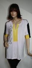 Maglia donna sportiva multicolor 3 z primavera estate con zip tg l 46 veste bene