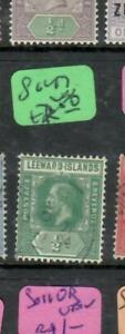 LEEWARD ISLANDS (PP0105B)  KGV  1/2D  SG 47   VFU