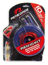 Renegade 10mm² Anschlusskit Verstärker Kabelset Endstufe Anschlussset Auto 10qmm