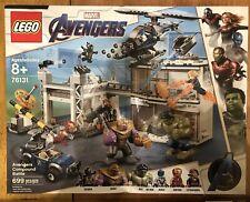 New Lego Marvel Super Heroes 76131 Avengers Compound Battle *No Box*