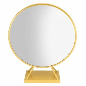 Round Makeup Mirror With Base Modern Vanity Mirrors Dressing Table ND2