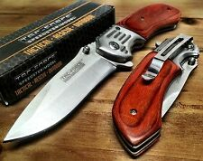 Tac-Force Spring Assisted GentleMan's pocket knife personalized engraving 938SW