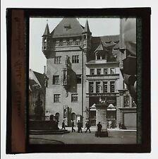 Nuremberg Allemagne Lanterne magique Plaque Projection Glass Magic Lantern N°6