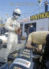 Elio de Angelis JPS Lotus 87 canadiense Grand Prix 1981 fotografía