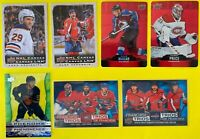 2020-21 UD Tim Hortons Inserts Cards (C-DC-CC-T) **You Pick From The List**