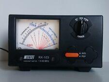 Nissei RX-103 Medidor De Roe 1.6-60MHz