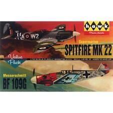 Lindberg Models 1/72 Spitfire/Me109 2-Pack HL445/12