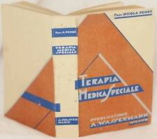 NICOLA PENDE TERAPIA MEDICA SPECIALE MEDICINA PSICHIATRIA ENDOCRINOLOGIA CURA