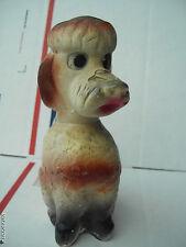 Vintage-Plaster/Chalk Poodle!