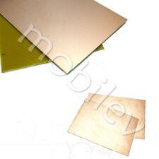 2 Copper Clad Laminate Circuit Boards FR4 PCB Single Side 120mmx180mm 12cmx18cm