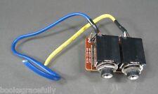 "Vintage KENWOOD KX-830 Cassette Deck Part - Dual Mic Microphone Jacks 1/4"" TRS"