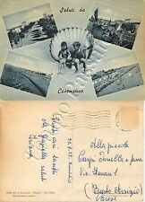 Cartolina saluti da Cesenatico, vedutine - Forlì Cesena, 1958