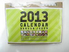 GanGan Joker Promo Furoku 2013 Special Calendar Japan Book Girl Rose Guns