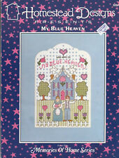 Homestead Designs MY BLUE HEAVEN & CALICO CAT from Memories of Home Series
