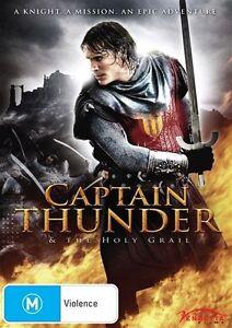 Captain Thunder & The Holy Grail (DVD, 2012)
