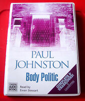 Paul Johnston Body Politic Quint Dalrymple 8-Tape UNABR Audio Book Ewan Stewart