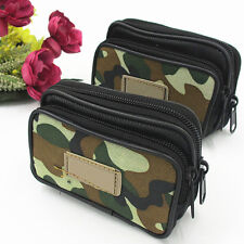 GREAT Camo Fanny Pack Water Repellent Travel Waist Belt Bag Cell Phone Holder