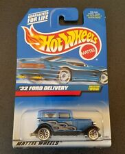 New! Hot Wheels - Blue - '32 Ford Delivery - Collector #996 - #23806