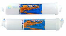 Replacement Countertop reverse osmosis cartridges carbon and remineraliser