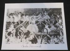 Carla Laemmle signed autographed photo Universal Dracula Phantom of the Opera