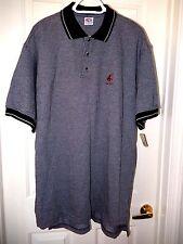 True Fan COUGARS Polo/Golf Shirt-XL, black/white   Collegiate Licensed Product