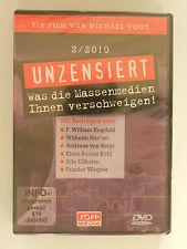 DVD Unzensiert Was die Massenmedien Ihnen verschweigen 2/2010 Vogt Michael Neu