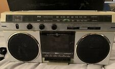 Vintage GE Cassette Player Boombox Ghetto Blaster Works Great!