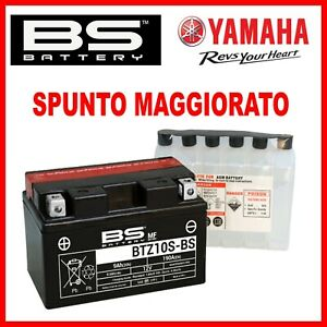 BATTERIA PER MOTO AGM 12V YTZ10S-BS YAMAHA YZF R1 2004 2005 2006 2007 2008 2009