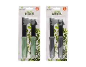 2Pc Garden Weeder Set Patio Knife Weed Weeding Remover Tool Moss Paving Scraper
