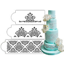 Elaine's Cake Stencil Set, 3 pieces