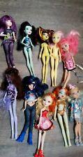 Lot 10 Dolls Mattel Disney Hasbro Monster High Decendants Others