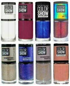Maybelline Colour Show Nail varnishes. Various Colours available