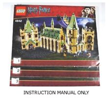 INSTRUCTION MANUAL LEGO 4842 HARRY POTTER - Hogwarts Castle (4th edition) - ONLY