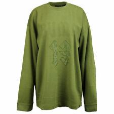 Puma Fenty by Rihanna Long Sleeve Graphic Crew Neck T-Shirt Olive 575138 03 A67A