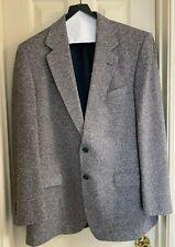 Moores Men's (Size 44-Long) Gray 2 Button Blazer Sport Coat Jacket Wool Blend