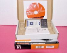 NEW Level one wireless G wireless PCMCIA  laptop /PC  LAN card 54MBPS Free Ship