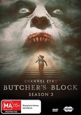 CHANNEL ZERO 3 (2018) BUTCHER'S BLOCK Season Three - TV Horror Series  Au DVD R4