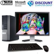 Dell OptiPlex 390 SFF Desktop Computer i3 4GB 250GB Windows 10 PC WIFI 17in LCD