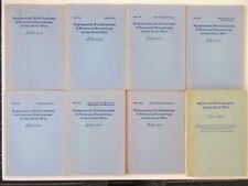 BIBLIOGRAPHIE GUERRE DE SECESSION MILITARY BIBLIOGRAPHY OF THE CIVIL WAR 8 VOL.