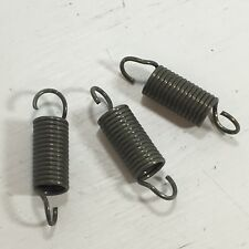 """SNOWMOBILE ATV EXHAUST SPRINGS 2"""" LONG HOOK TO HOOK 3 PK NEW OLD STOCK"""