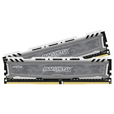 Crucial 16GB Kit 8GBx2 DDR4 PC4-19200 DIMM 288-pin Memory Ram BLS2K8G4D240FSB